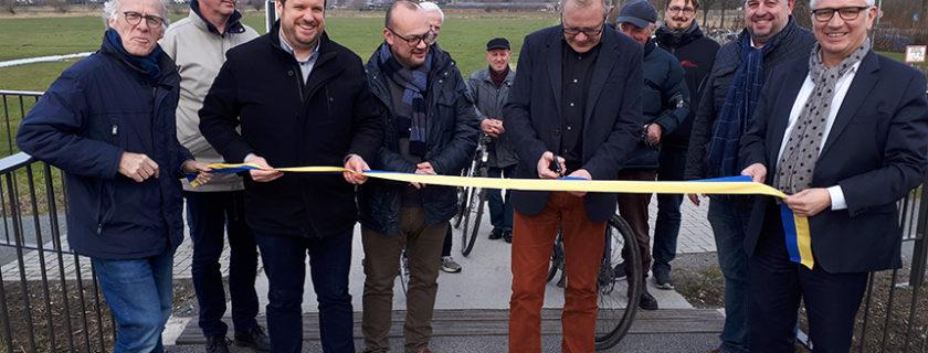Nieuwe fietsweg officieel geopend
